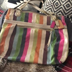 Vintage Coach Poppy Bag